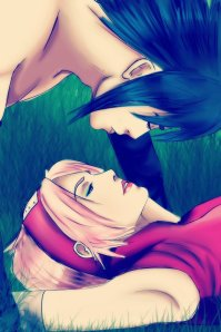 sakura_and_sasuke_by_lazycreator-d5ufzqc