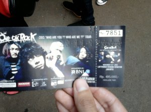 Tiket konser one ok rock