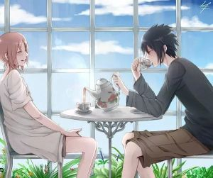 SasuSaku-tea time