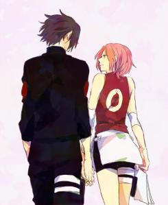 SasuSaku-walking together